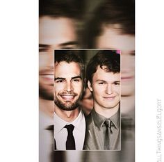 Theo James & Ansel Elgort - Can't decide which one is hotter?!?!