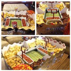 snack stadium #superbowlparty