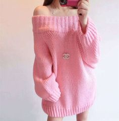 Autumn Winter Women Basic Pullover Sweaters Female Sexy Slash Neck Off Shoulder Knitted Sweater Long Thick Warm Pullovers Tops
