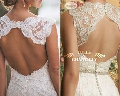 Modern Brides � Top Dramatic and Intricate Back Designs of Wedding Dresses 2013