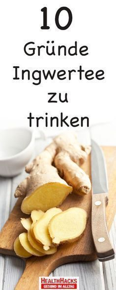 10 amazing effects of ginger water and ginger tea- 10 erstaunliche Effekte von Ingwerwasser und Ingwertee 10 reasons to drink ginger tea and ginger water - Superfood, Effects Of Ginger, Health And Nutrition, Health Fitness, Health Foods, Healthy Drinks, Healthy Recipes, Healthy Life, Healthy Eating