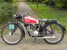 1947 Eysink (Holland) Model: Enduro Ex-Works. Enduro, Motorbikes, Motorcycles, Vehicles, Holland, Dutch, Classic, The Nederlands, Derby