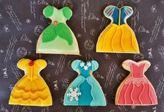 Disney princess cookies :)
