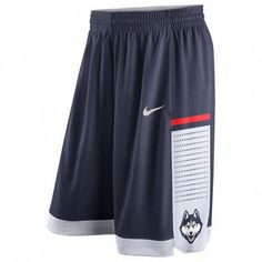 Nike UConn Huskies Navy Authentic On-Court Performance Basketball Shorts is available now at FansEdge. Enjoy fast shipping and easy returns on all orders of [[product_name]]. College Basketball Shorts, Team Usa Basketball, Basketball Is Life, Basketball Uniforms, Basketball Floor, Basketball Shoes, Rugby Outfits, Sport Outfits, Mens Gym Shorts
