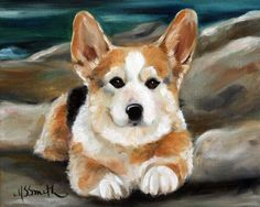 1100 best images about Corgi Art on Pinterest | Folk art, Art ...