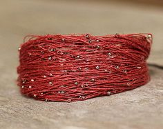 Fine and Sterling Silver & Artisan Seed Bead por Naryajewelry