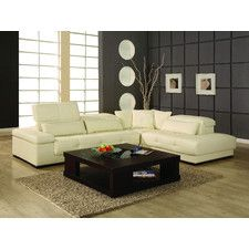 Chaise Sofa Bella Right Facing Chaise Sectional Sofa