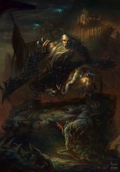Barbarian - Diablo 3: Reaper of Soul Contest by maxvu88.deviantart.com on @deviantART