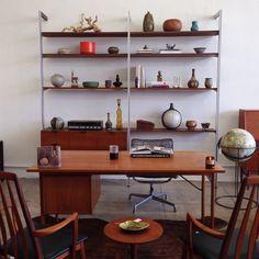#MidCenturyDesign #MidCenturyModern #ColdBrew #Eames #Koefoed #Vintage #WallUnit