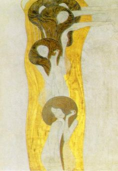 The Beethoven Frieze is a painting by Gustav Klimt.