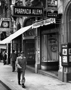Rua XV de Novembro - Sao Paulo Brasil 1939 Photo: John Phillips