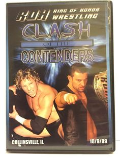 Ring of Honor Wrestling Clash of the Contenders DVD 10-09-09 ROH OOP WWE TNA PWG Davey Richards Kenny Omega #findroh #watchroh