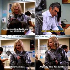 """When Moira proved just how strong her relationship with Alexis was. 28 """"Schitt's Creek"""" Moments That Are Actually Hysterical Catherine O'hara, Tv Quotes, Funny Quotes, Schitts Creek, Parks N Rec, Reality Tv Shows, Getting Drunk, Past Life, Theme Song"""
