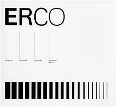 Otl Aicher, ERCO (1976)
