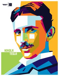 Nikola Tesla by firmanalief
