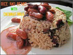 Rice and Beans with Coconut Milk Recipe, experience the ultimate Caribbean side dish for excellence! a hint of coconut milk on every bite, n...