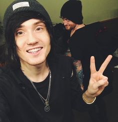 Denis Stoff and Sam Bettley // Asking Alexandria