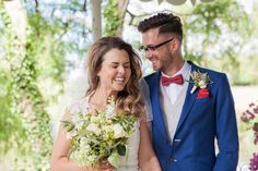 bride and groom gazebo at Preston Court, couple wedding photos, natural wedding photography, wedding photo ideas, wedding photo inspiration, Kent wedding, red bow tie, groom in glasses, quirky groom, groomsmen style, Kent wedding