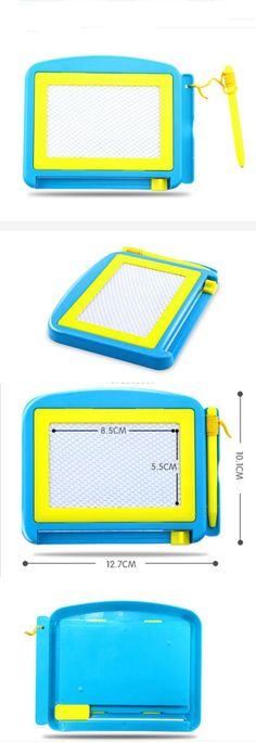 Preschool and Kindergarten 145938: Magnetic Color Drawing Board Sketch Pad Writing Craft Art Children Toy (Blue) -> BUY IT NOW ONLY: $40.13 on eBay!