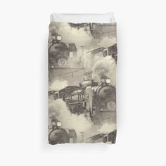 C-6120 Old Steam Engine Train done in lithograph style. • Also buy this artwork on home decor, apparel, stickers, and more.