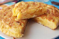 Recette de Tortilla de patatas - Recettes de cuisine faciles et simples   Recettee