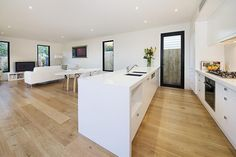 Quality Timber flooring Example