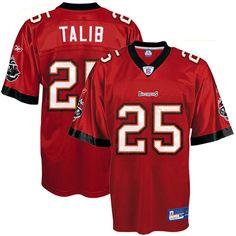 Tampa Bay Buccaneers #25 Aqib Talib Red NFL Jersey  ID:86705030  $20
