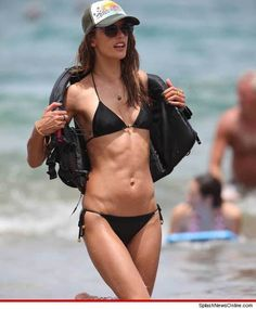 Alessandra Ambrosio -- Hot Body Lifesaver