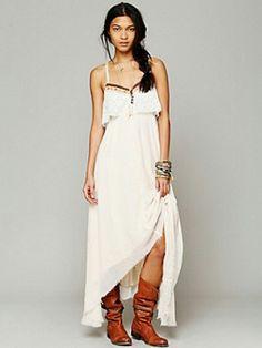 Gypsy heart dress $168
