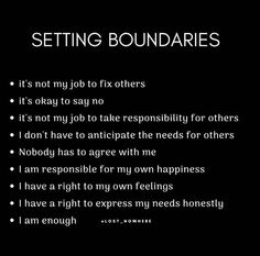 Lack of boundaries and self love is what contributed to my toxic narcissist vs Empath nightmare! The Universe had to shaken me to awaken me! These NARCS were brought to us for a reason and on a spiritual level so we can become our highest self and learn t The Words, Positive Quotes, Motivational Quotes, Inspirational Quotes, Note To Self, Self Love, Relation D Aide, Boundaries Quotes, Personal Boundaries