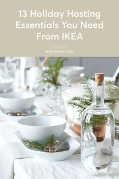 Don't throw a party without these entertaining must-haves from IKEA. #ad