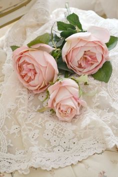 Pretty pink roses...