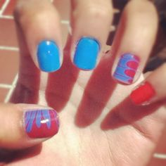 Spiderman nails! Watermable!