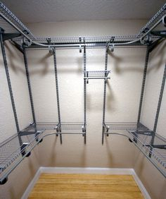 Great The ClosetMaid ShelfTrack Closet Organizer Kit Offers Configuration And  Shelf Location Adjustability. The ShelfTrack System Is An Adjustable Standau2026