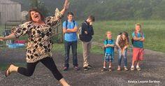 15 pais que ficaram felizes com a volta às aulas