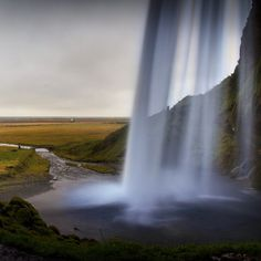 The fairytale waterfall #Iceland #goodmemories #waterfall #adventure #landscape #nature #goodlife #fairytale #dreamy