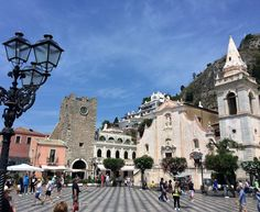 See the serene beauty & learn about the culture and archaeology of this historic town of #Taormina in a whole new way during your walking tour.