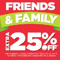 Pass it on! Extra 25% off during JCPenney Friends & Family. Get Groovy !