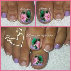 Manicure, Nail Designs, Beauty, Pretty Nails, Work Nails, Sour Cream, Toe Nail Art, Simple Toe Nails, Pretty Toe Nails