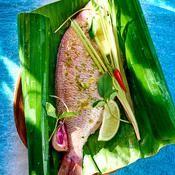 Dorade � la tahitienne - une recette Barbecue - Cuisine