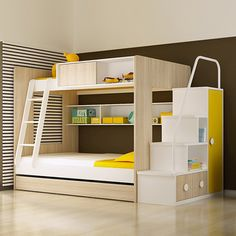Source 2014 Home Use Modern Fashionable Kids Bunk Bed on m.alibaba.com