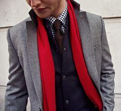 Preppy style.