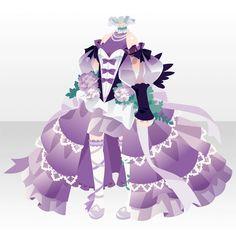 @trade | 夜牡丹の花咲くドレス(PL)