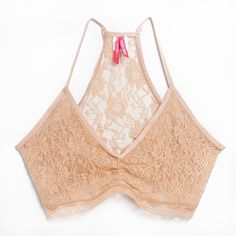 The Kelly Bra in Nude. Perfect for unilateral and bilateral mastectomies, all reconstruction and no reconstruction. Shop it at AnaOno.com