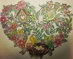 ColorIt Blissful Scenes Adult Coloring Book Colorist: Cindy Turner Uselton #adultcoloring #coloringforadults #adultcoloringpages #blissfulscenes