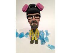 The Cook full color 3D Printed Breaking Bad inspired figurines. #shapeways #chemist #hazmatsuit #breakingbad #Sculptures #Memes, #Blue #Magic #blue #meth #Heisenberg #Meth #Wally #Walt #Walter #Walter #White #WW