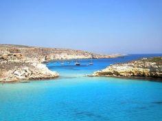 Isola dei Conigli, Lampedusa (Sicile) http://www.homeinitaly.com