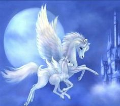 ♥ ☆ º ♥ Pegasus and Colt ♥ ☆ º ♥  Cross Stitch, Needlepoint or other Needlecraft on Listia