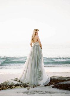 seaside wedding inspirations, photo Morgan Lamkin | www.hochzeitsguide.com