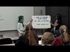 """""""HOW TO GROOM YOUR HORSE"""" Miki's 4-H Presentation - YouTube"""